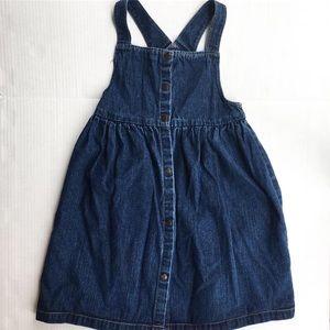 Vintage Chaps denim dress 6x